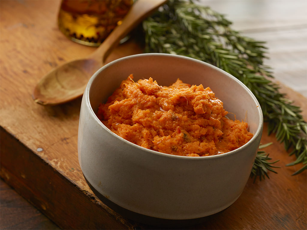 Chipotle Smashed Sweet Potatoes - Fairway Market