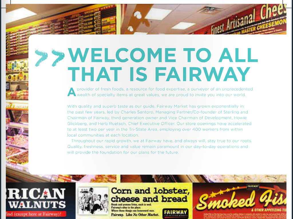 Fairway Market Flavors Fall 2012 Magazine