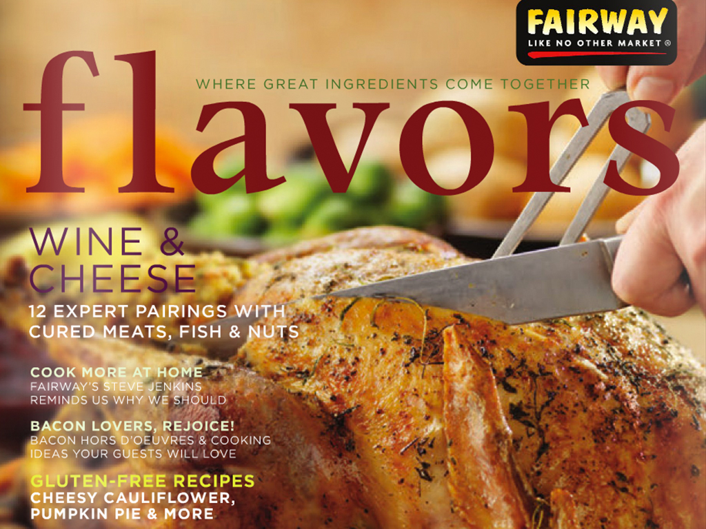 Fairway Market Flavors Fall 2013 Magazine