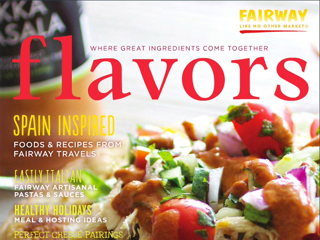 Fairway Market Flavors Fall 2014 Magazine